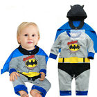 NEW Baby Boy Girl Kids Superman Supergirl Costume Romper Cow 3-18 M Halloween