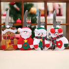 Christmas Xmas Party Cutlery Holder Pocket Organizer Tableware Decor Banquet