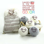 Organic Wool Dryer Balls All Natural Fabric Softener Reusable X Large Ball 6 Pk