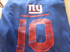 NWT NEW YORK GIANTS Dri Fit ELI MANNING Name & Number #10 T shirt FREE SHIPPING