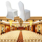 White 400pcs Stretch Spandex Chair Covers Wedding Party Banquet Free Ship Arched