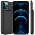 For iPhone 11 Pro Max /X/XS/7/8 Plus Battery Case Power Bank Charging Case Cover