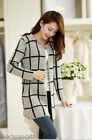 Womens Fashion Oversized Loose Knitted Sweater Jumper Cardigan Outwear Coat GIFT