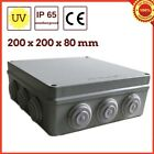 Waterproof Plastic Enclosure Case Power Junction Box Strong Sealed Plastic IP65