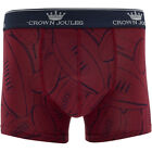 Joules Mens Cjoddballs Hand Drawn Rugby Ball Printed Boxer Shorts