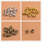 Wholesale Tibetan silver skull Charms spacer beads Jewelry 12x8MM 3148