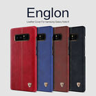 Nillkin Englon Premium Stitched Faux Leather Case Cover Samsung Galaxy Note 8