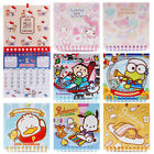 SANRIO KITTY MELODY TWIN STAR POCHACCO KEROPPI GUDETAMA MINI 2018 WALL CALENDAR