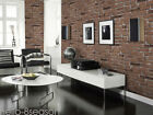3D Brick Stone Wallpaper Mural Modern Wall Decals Background Room Decoration HOT