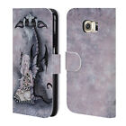 OFFICIAL AMY BROWN FOLKLORE LEATHER BOOK WALLET CASE COVER FOR SAMSUNG PHONES 1