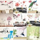 11 Styles 3d Vinyl Flower Animal Wall Stickers Decal Art Home Decor Removable