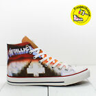 Metallica Master of the Puppets Custom Converse Chuck Taylor shoes rock sneakers