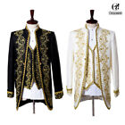 Medieval King Prince Jacket Pant Full Set Mens Halloween Party Cosplay Costume