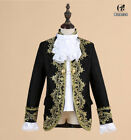Kid Royal King Prince Costume Kids Medieval Leader Cosplay Jacket Pant Full Set