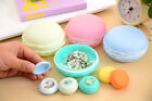 Candy Color Earphone TF SD Card Macarons Bag Storage Box Case Carrying Pouch US