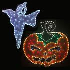 Halloween Rope Light Decoration Tinsel Ghost Pumpkin Spooky Party Garden Home