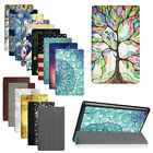 Ultra Slim Slim Shell Case PU Leather Stand Cover for All-New Amazon Fire HD 8