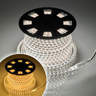 50m Flat Rope Light Tape Reel with 3000 Cool or Warm White SMD LEDs