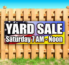YARD SALE CUSTOMIZE YOUR DATE Advertising Vinyl Banner Flag