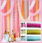 3.6M Tissue Paper Garlands Bunting Party Wedding Baby Shower Decorations