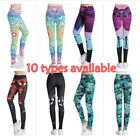 Women YOGA Gym Leggings Jogging Fitness Pants Stretch Bodycon Trousers Athlete