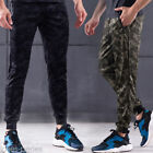 Fashion Mens Camo Trousers Cargo Combat Slim Leg Sports Training Athletic Pants
