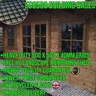 SHED BASE KIT & FREE HD MEMBRANE BUILDING FLOOR BASES LOG CABIN GREENHOUSE sm