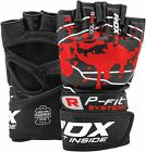 RDX MMA Gloves Grappling Martial Arts Kickboxing Sparring Cage Fight Training