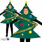 Girls Boys Childs Christmas Xmas Tree Nativity Festive Fancy Dress Costume Tunic