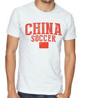 China Team Soccer T-shirt Adults Men's Soccer Jersey 100 % cotton Any Sports image
