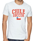 Chile Team Soccer T-shirt Adults Men's Soccer Jersey 100 % cotton Any Sports image