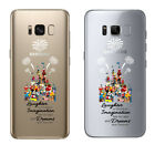Kids Royal Castle Soft TPU Ornament Case Cover For Samsung Galaxy S8 S8 Plus