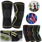 Knee Recovery Compression Sleeve Support Protective Brace Unisex Pain Relief US