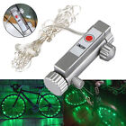 20 LED Bike Bicycle Cycling Rim Lights LED Wheel Spoke Light String Strip Lamp