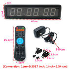 Multi-size LED Interval Timer Programmable Stopwatch Home Gym Crossfit Fitness