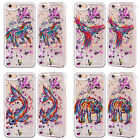 HEAD CASE ANIMAL SCRIBBLES SILVER GLITTER CASE FOR APPLE iPHONE SAMSUNG PHONES