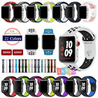 Replacement Soft Silicone WristSport Band Strap For Apple Watch 42mm 38m iWatch