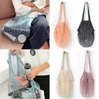 Reusable Fruit String Grocery Shopper Cotton Tote Mesh Wovens Net Shoulder Bag