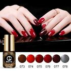 MEFA 4/5/6Pcs Set Gel Nail Polish Art UV Soak Off Nude Color