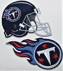 NFL Tennessee Titans Embroidered  Iron-on Patch FREE SHIP