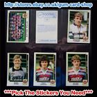 ☆ Panini Football 86 (Stickers 1 to 99) (GOOD) *Select the Stickers You Need*