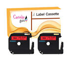 Compatible Label Tape For Brother Black on Red M-K431 70HOL 70HOT 70SP 70SR 65SB