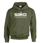 SAKO LOGO HOODED TOP/HOODIE PULLOVER TYPE  Shotgun/Firearm/Hunting/Shooting
