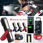 USB Rechargeable 3W COB LED Work Light Magnetic Emergency Flashlight Torch