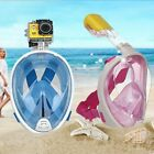 Full Face Scuba Snorkeling Mask Diving Seaview Swimming Tools for GoPro Camera