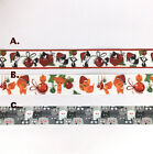 22mm Christmas Cat Printed Grosgrain Ribbon Cake Craft Hair Bow Dummy Hair Clip