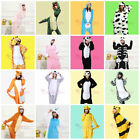 Lovely Adult Flannel Unisex Kigurumi Animal Pajamas Cosplay Costume Sleepwear