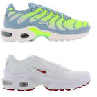 MENS WOMENS BOYS GIRLS NIKE AIR MAX TN PLUS TXT TUNED 1 TRAINERS WHITE  BLUE