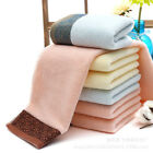 Soft Cotton Towels Absorbent Bath Sheet Home Hand Bathroom Towels Wash Cloth US