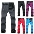 Sport Unisex Autumn Winter Warm Pant Waterproof Hiking Slim Outdoor Trousers New